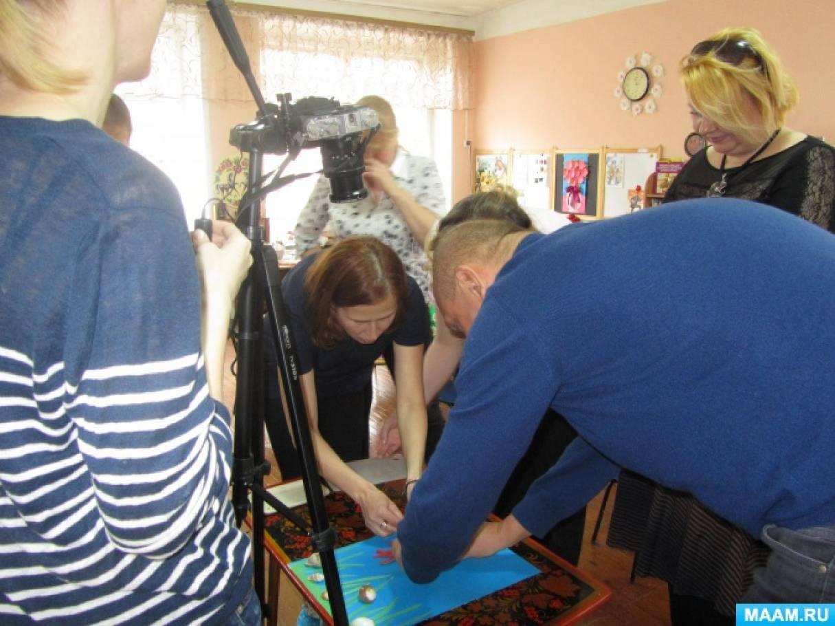 Мастер-класс в студии анимации «Сказка за сказкой» для родителей будущих дошколят. Фотоотчет.
