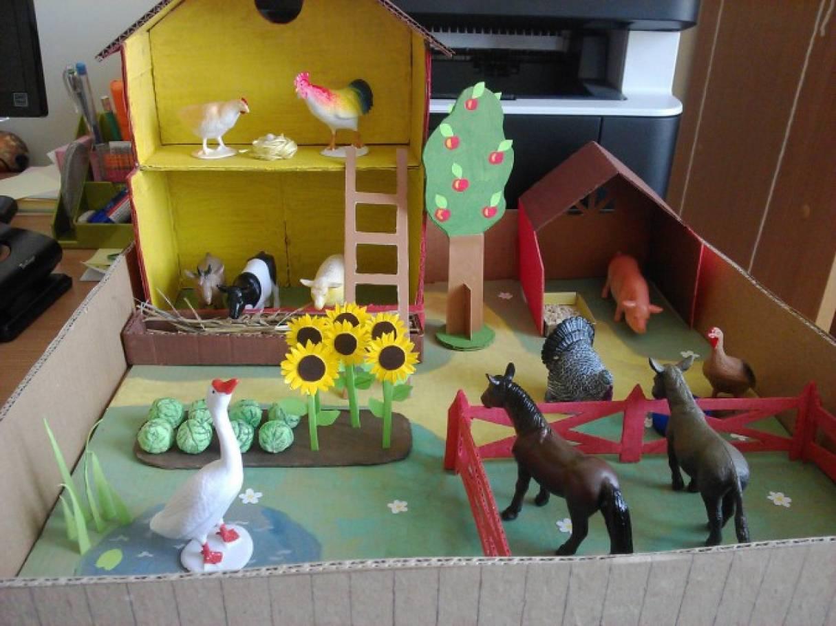 Животные для детского сада своими руками 890