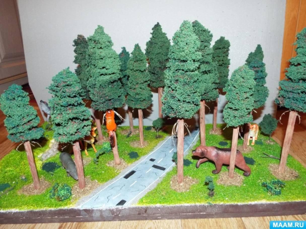 Поделки про лес своими руками 81