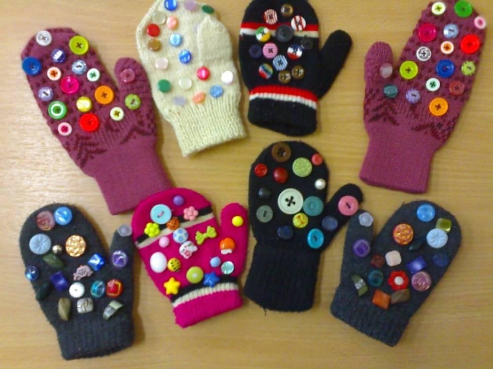 Массажные перчатки своими руками фото 780