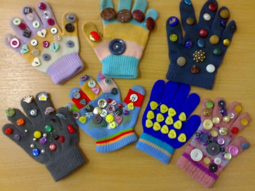 Массажные перчатки своими руками фото 857