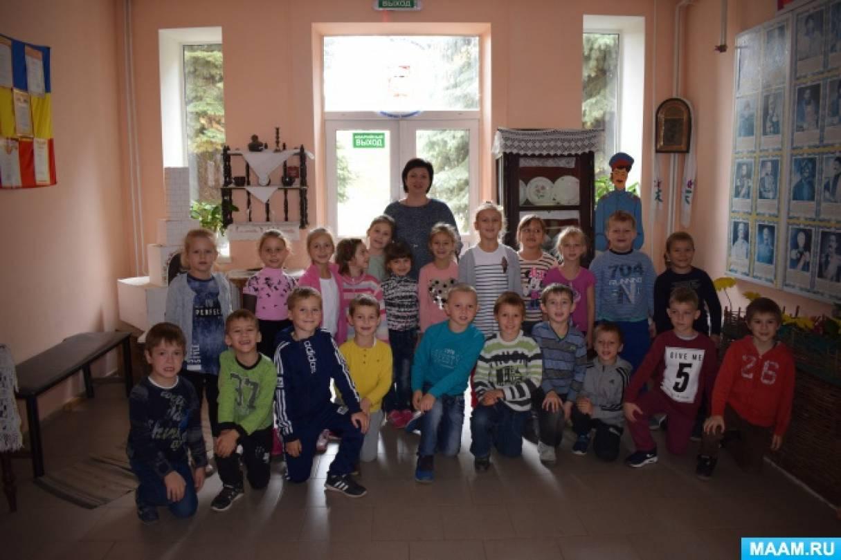 Фотоотчет об экскурсии в школу «Знакомство будущих первоклассников с жизнью школы»