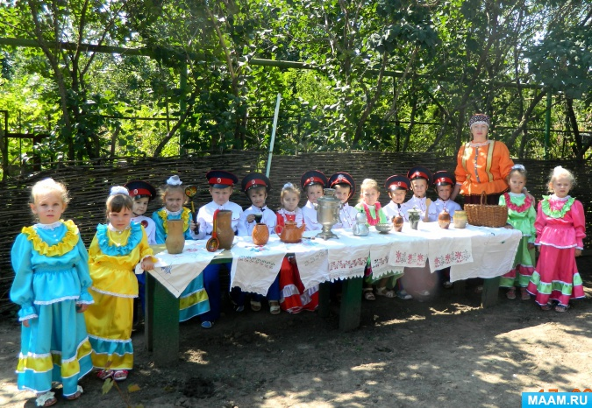 Проект «Организация работы с детьми в музее «Казачье подворье»
