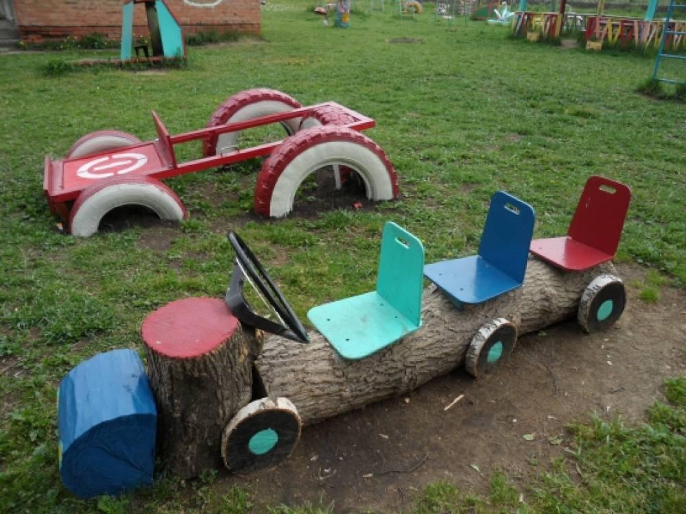 Летнее оформление участка  в детском саду фото 79