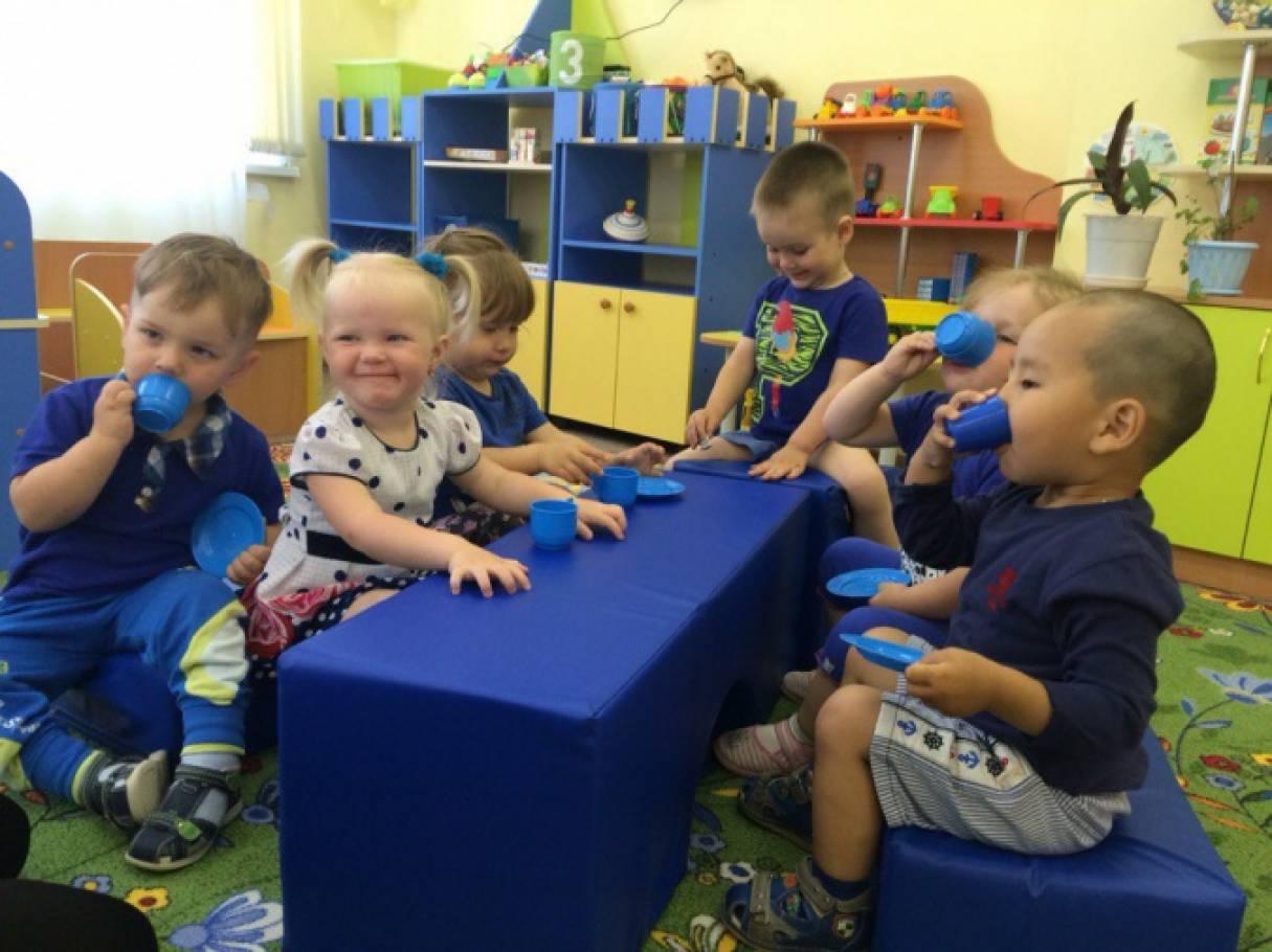 День красного цвета в детском саду