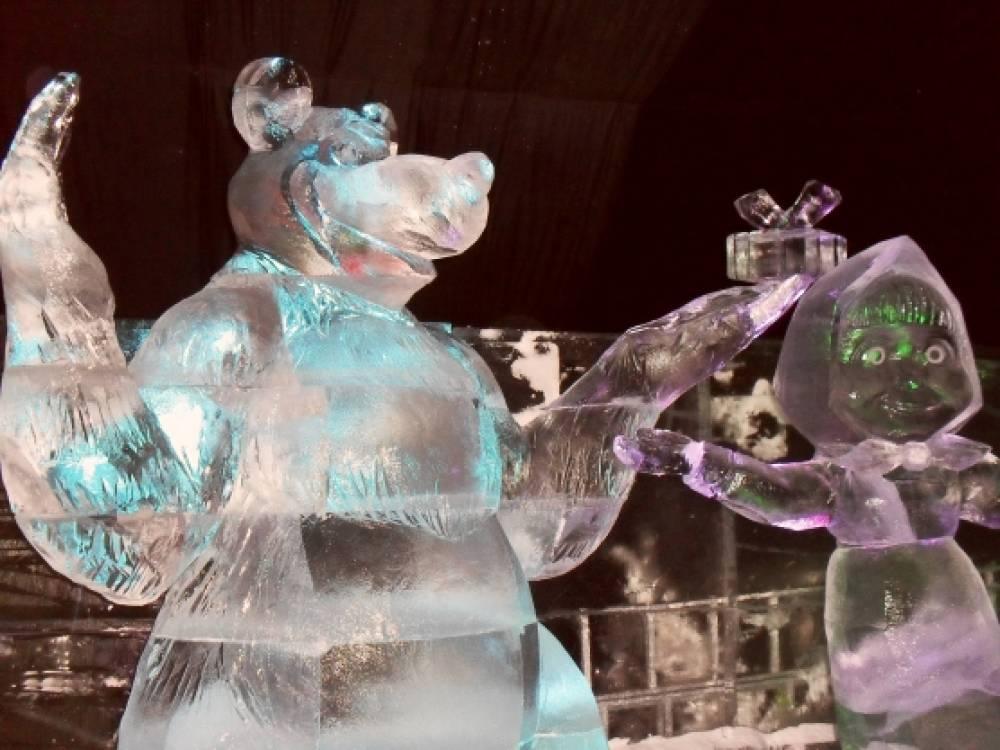 человек, наверное, ледовые скульптуры фото герои сказок хорошо такие образы