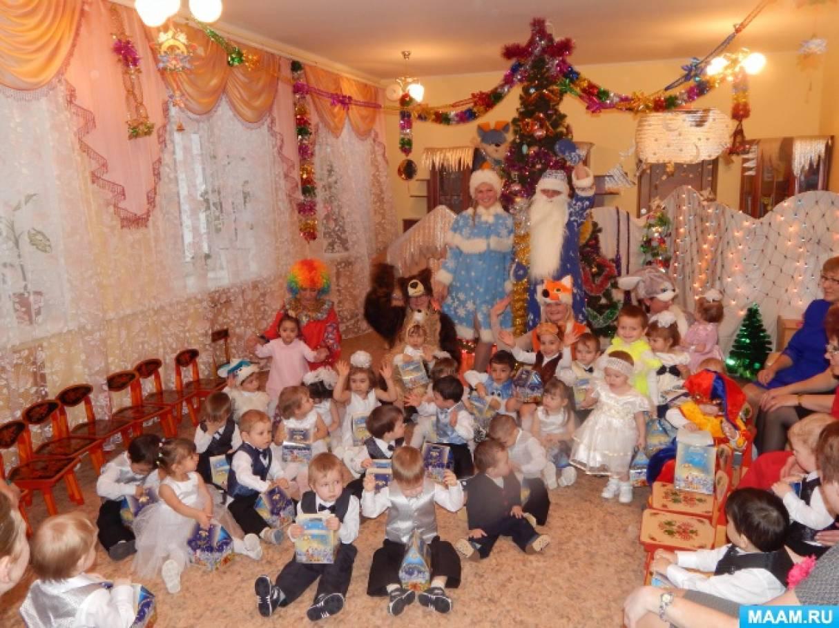 Детские сценарии праздников для детского сада