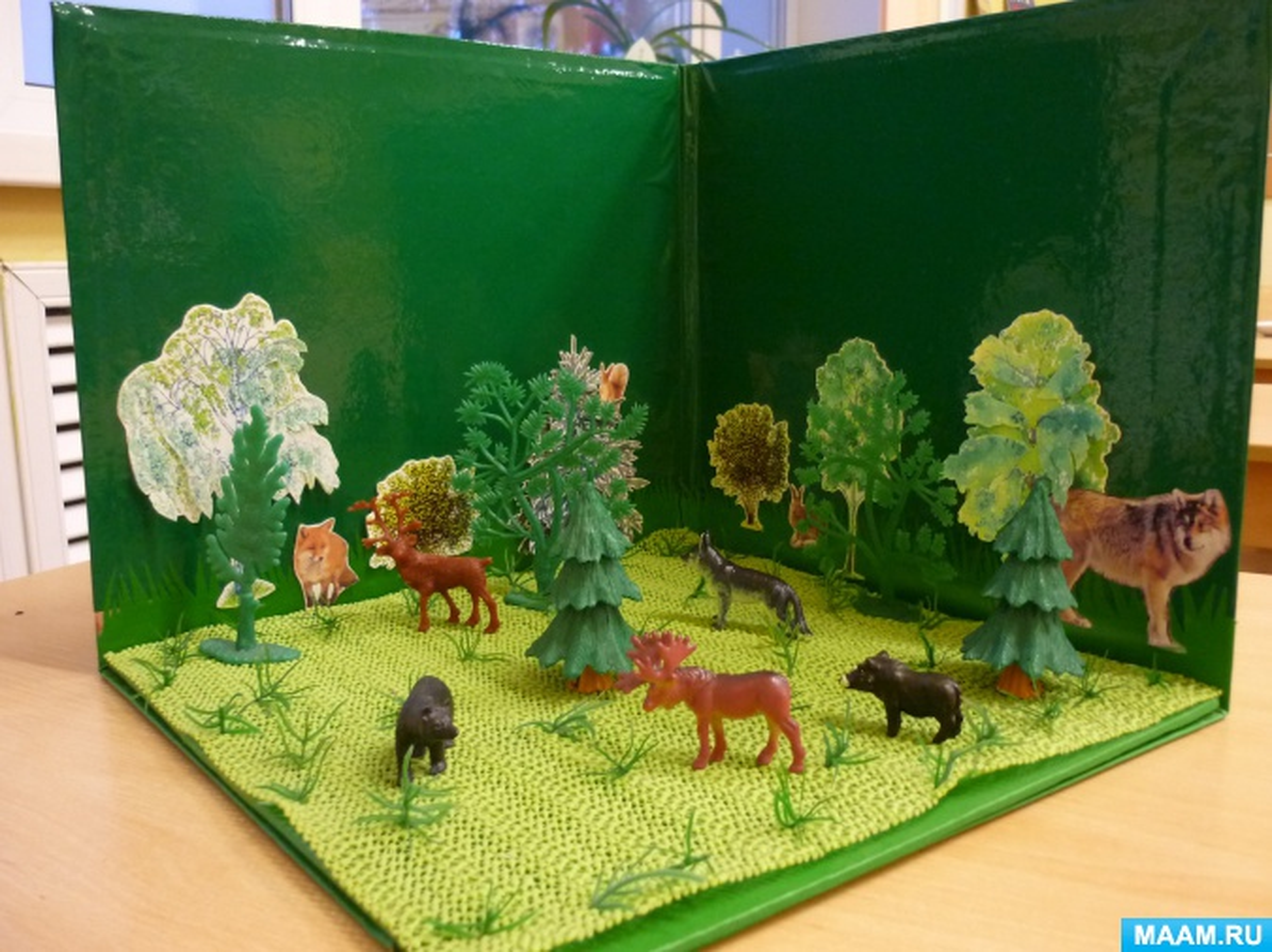 Животные для детского сада своими руками 962
