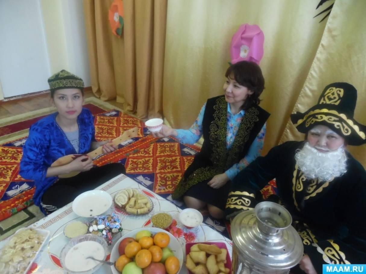 Проект к празднику Наурыз в средней группе