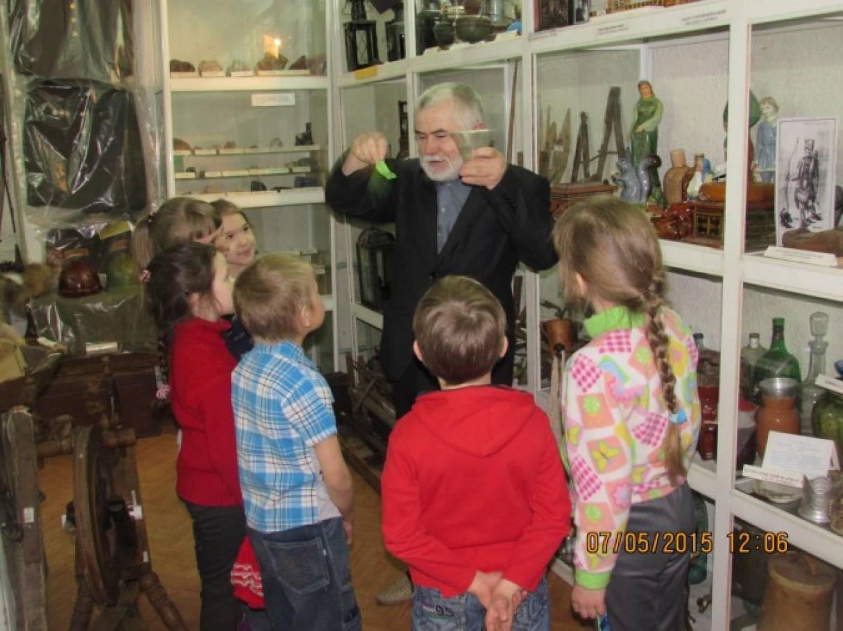 как познакомить детей с музеем