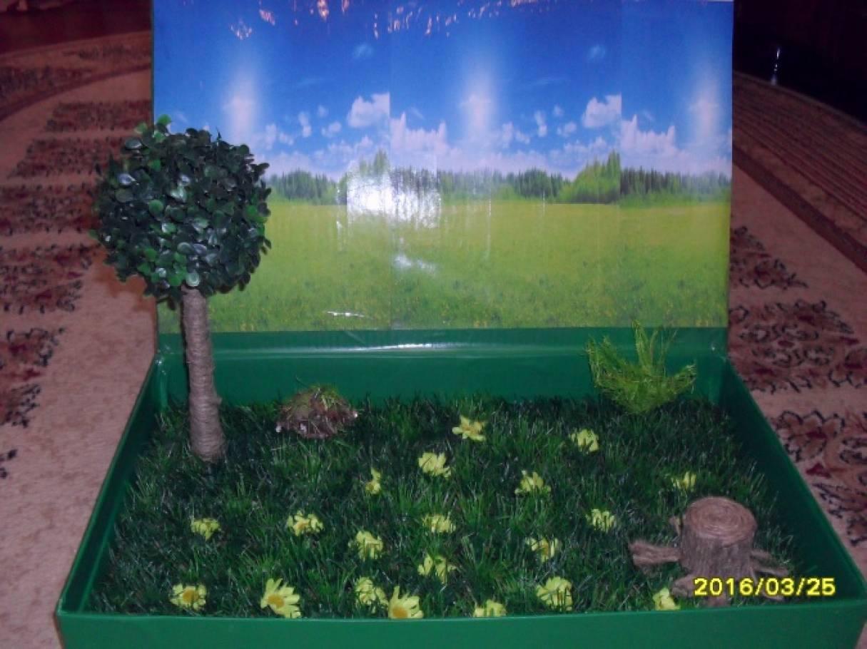 Искусственная трава своими руками для поделки 2