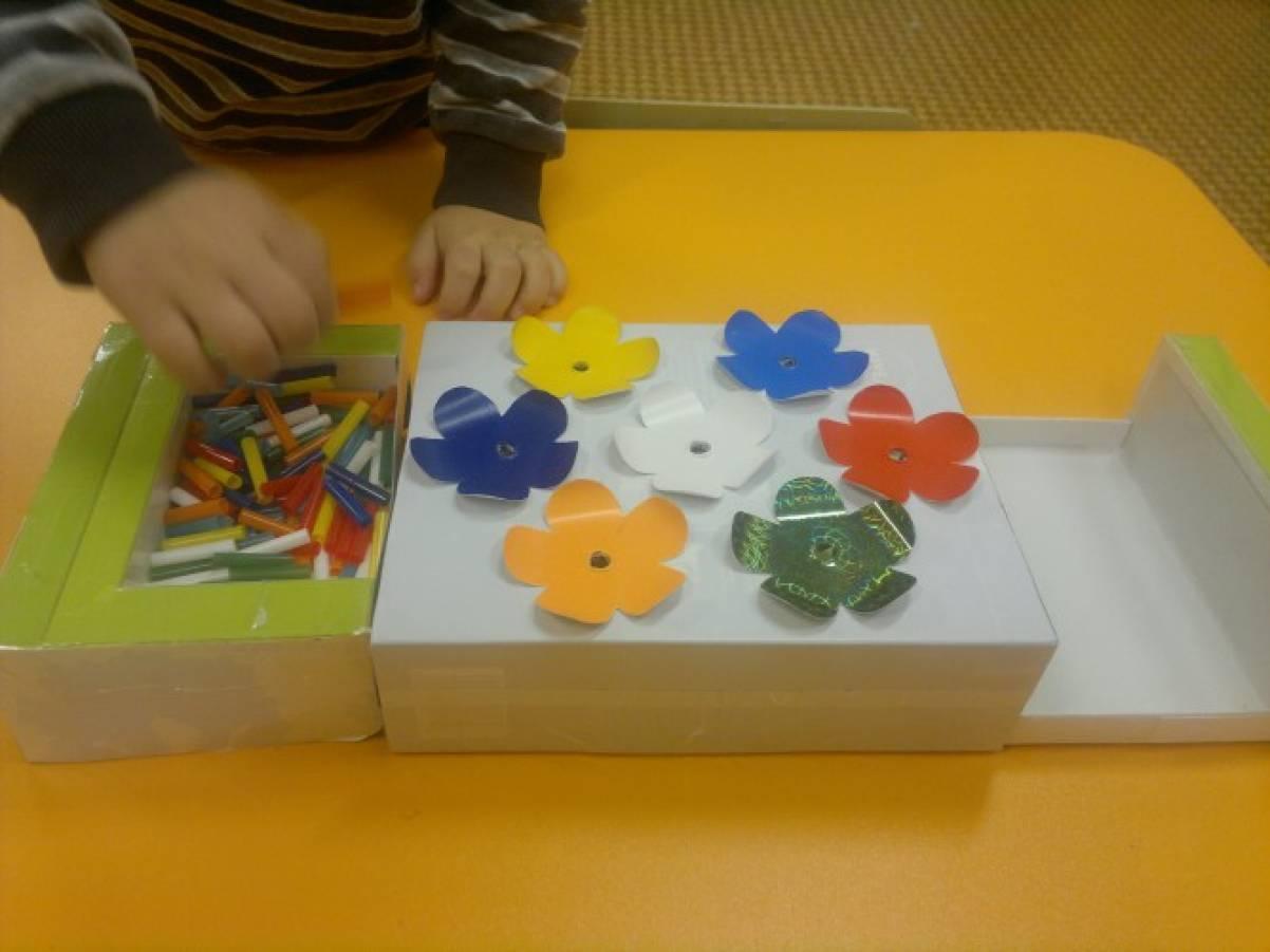 Развивающая игра «Подбери по цвету»