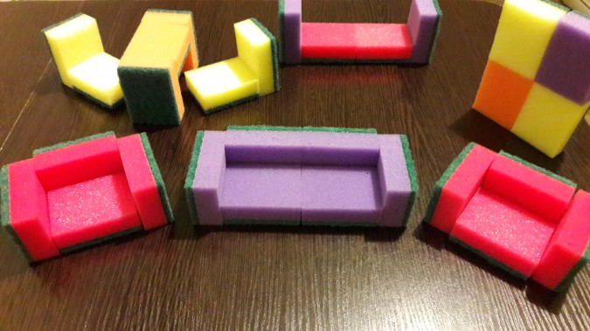 Как сделать губки для игрушек 433