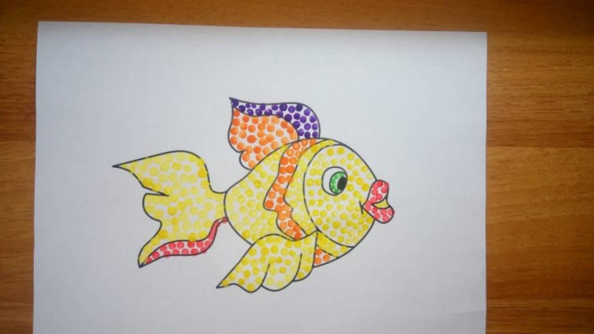картинка рыбка средняя группа ларкин пожалуй