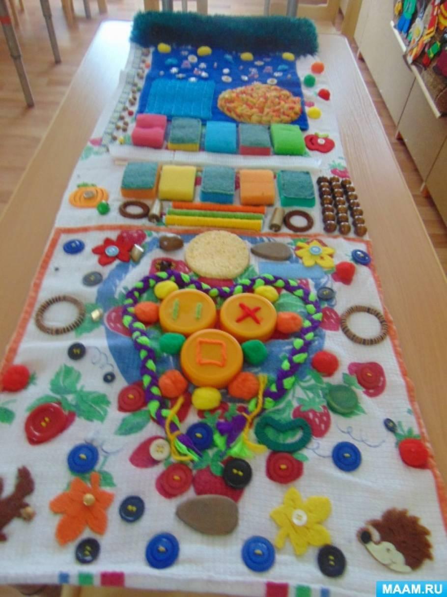 Развивающий коврик для детей своими руками (36 фото как)