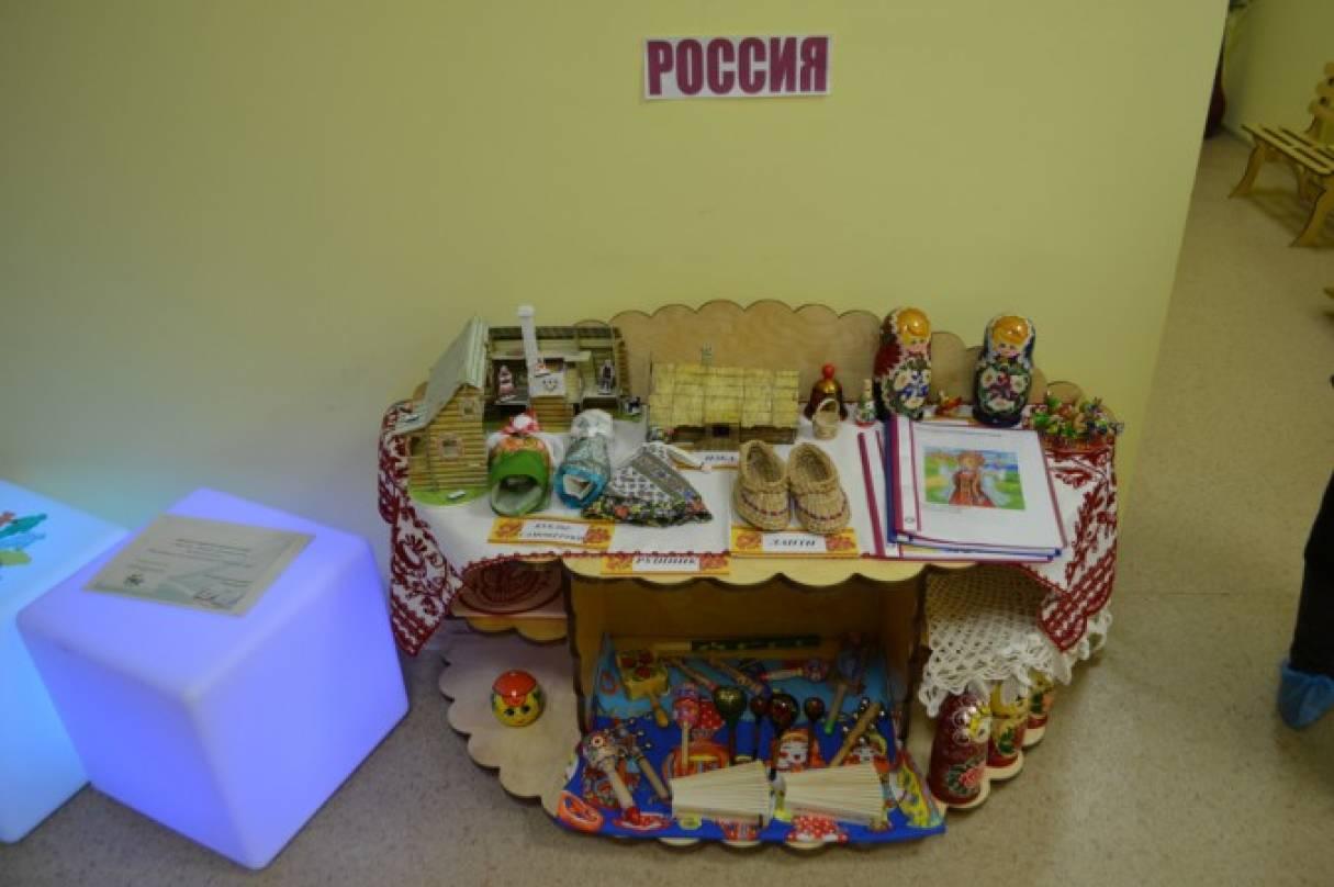 Создание условий для успешной социализации дошкольников путем толерантности к народам проживающим на территории России