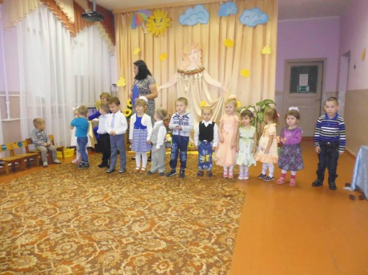 Сценарий проведения праздника в младшей группе «Встречи в осеннем лесу»