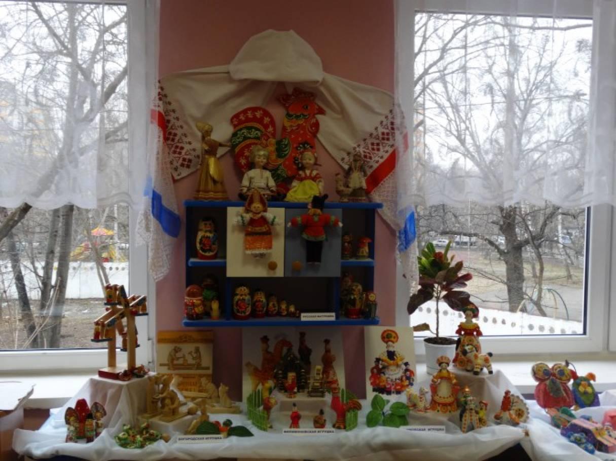 Сценарий мероприятия с детьми средней группы «Русская народная игрушка»