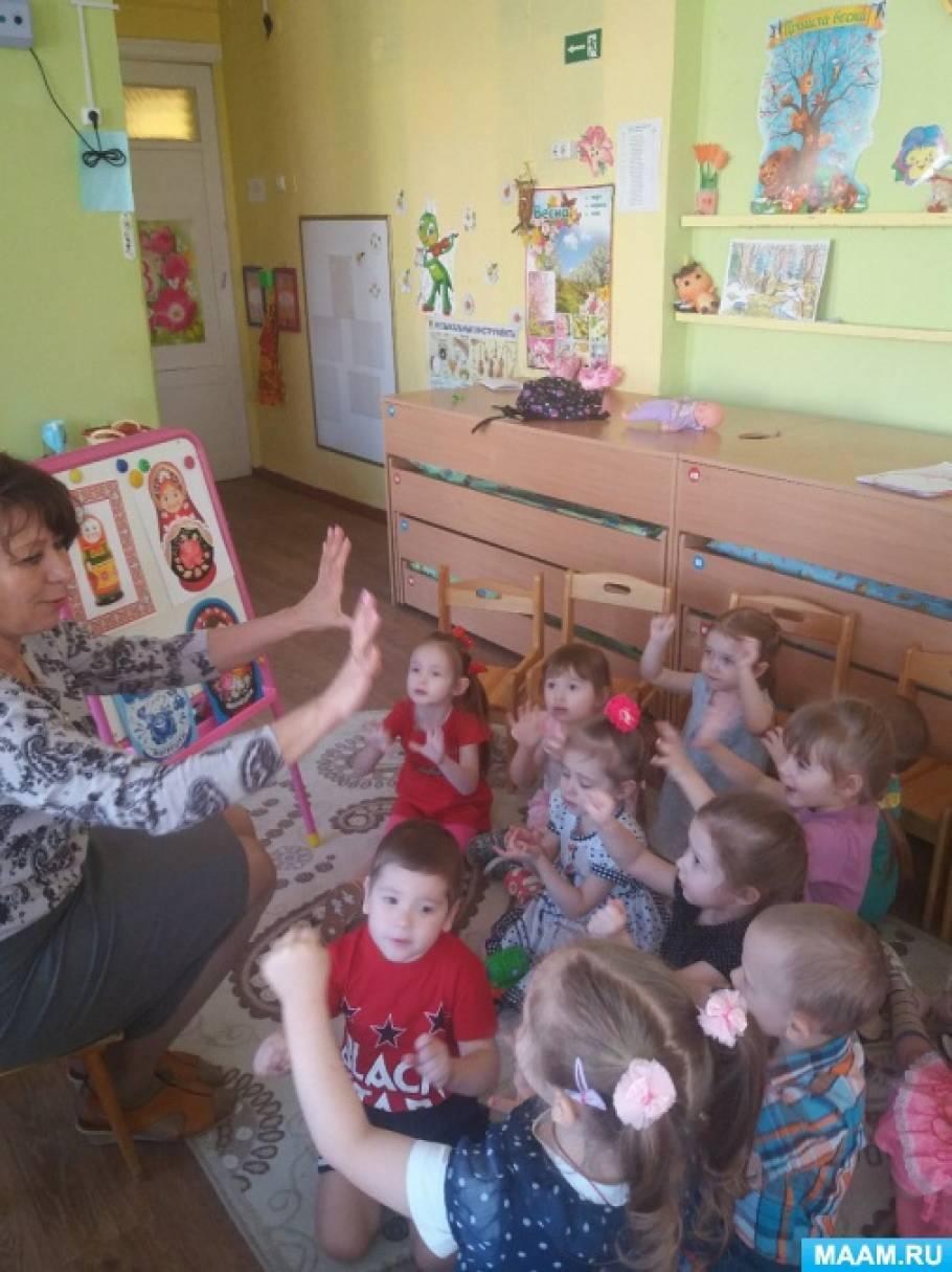 Педагогический проект «Матрешки у ребят в гостях»