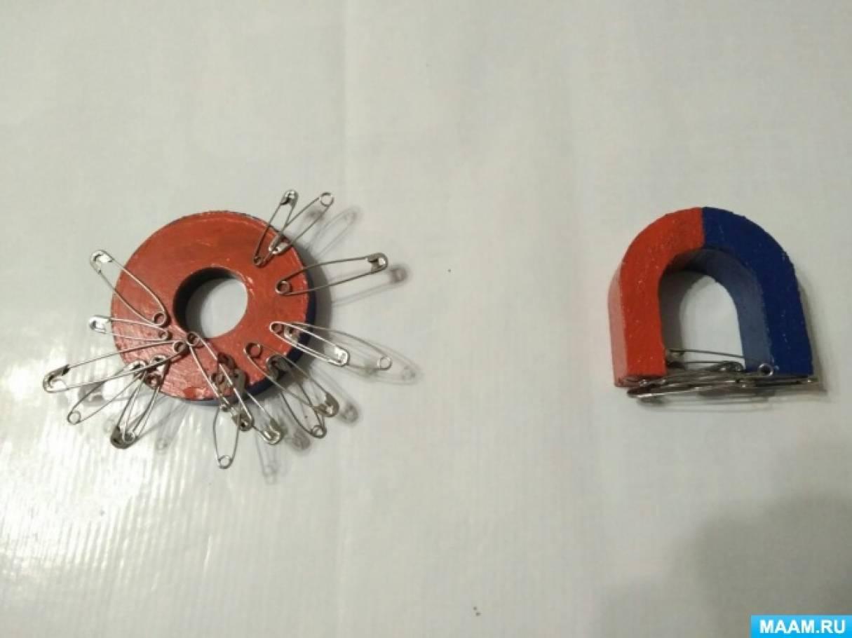 фотоотчет свойства магнита