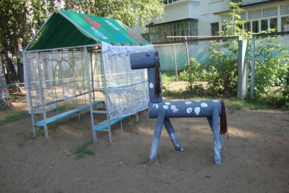 Постройки для участка детского сада своими руками 708