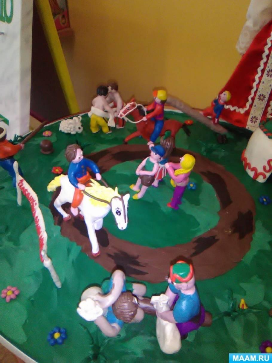 Мастер-класс по изготовлению панно «Народный праздник Сабантуй»