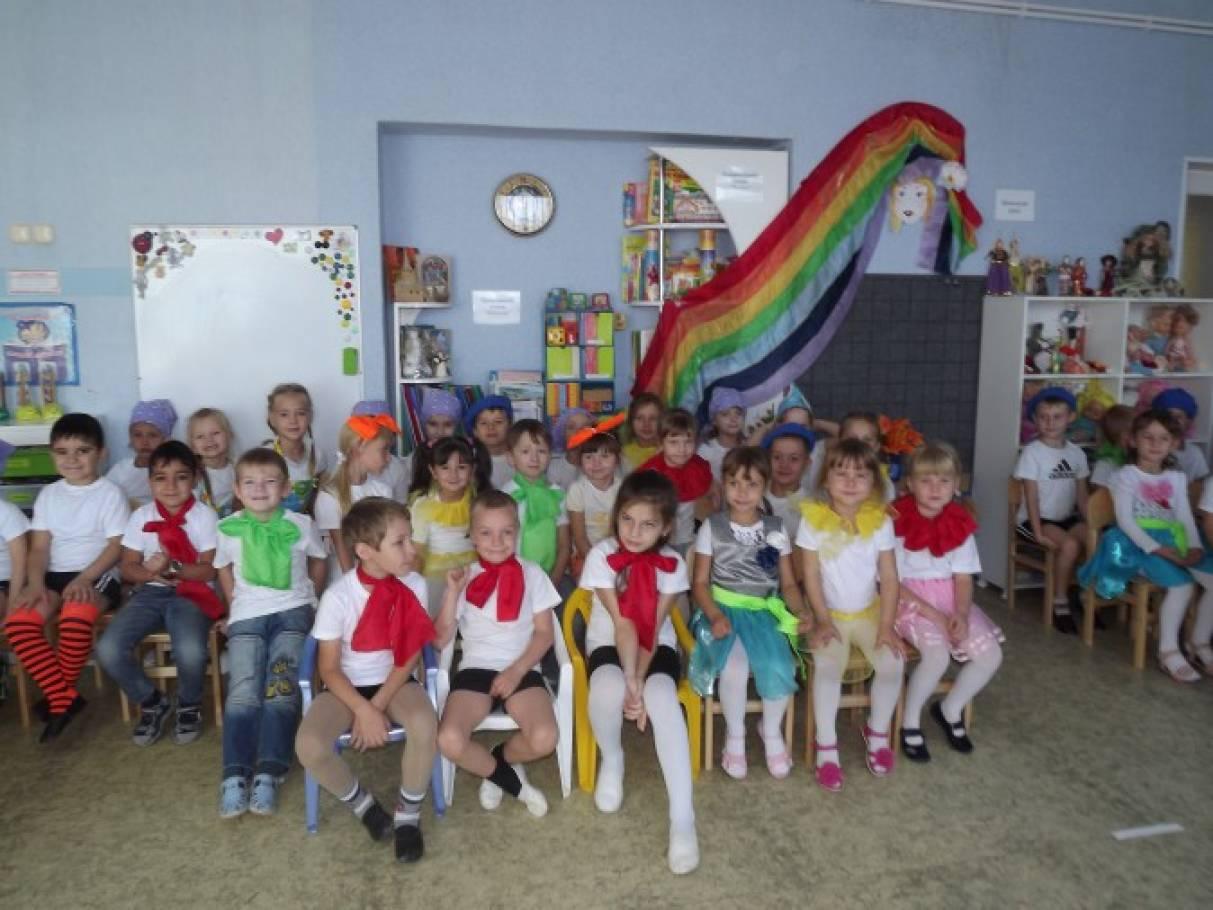 Фотоотчет о развлечении «День рождения «Радужки», посвященном 50-летию детского сада