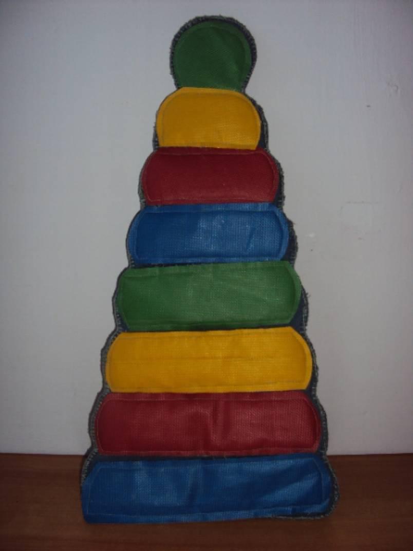 Дидактическое пособие «Пирамидка»