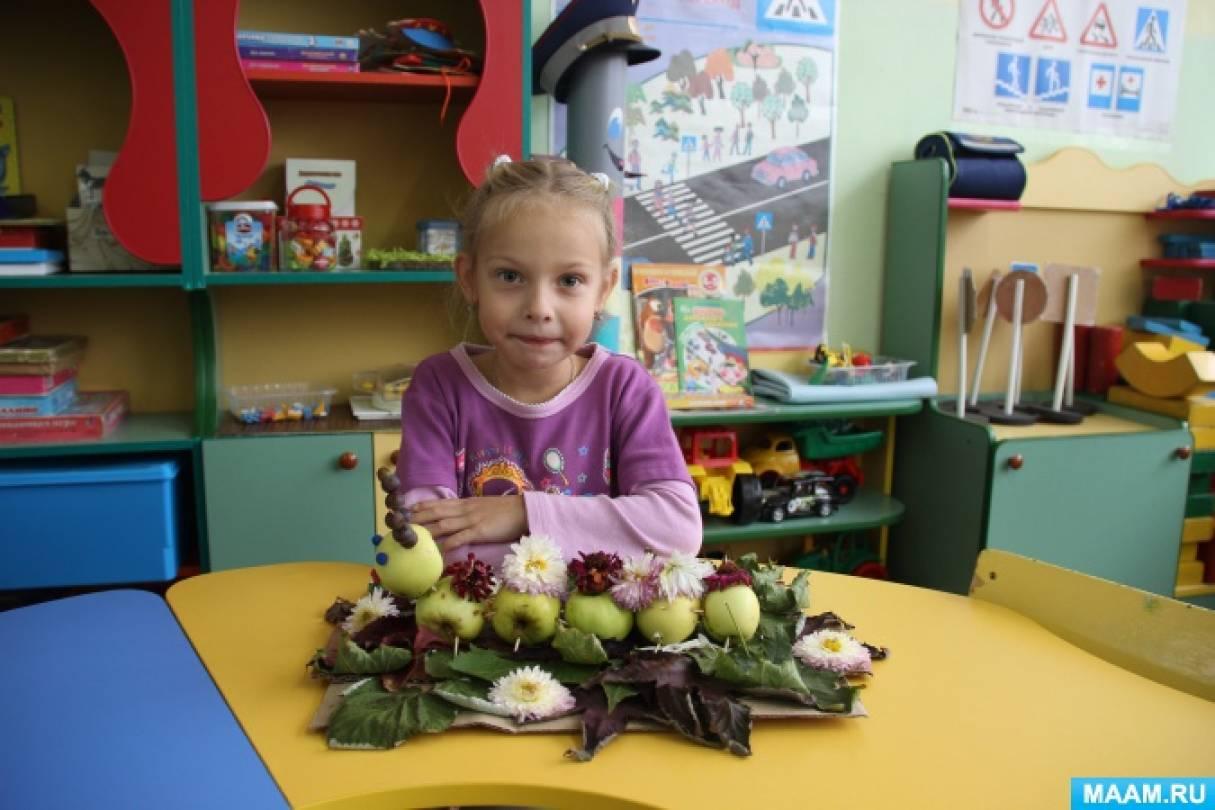 Фотоотчет о конкурсе поделок из природного материала «Урожай у нас неплох!»