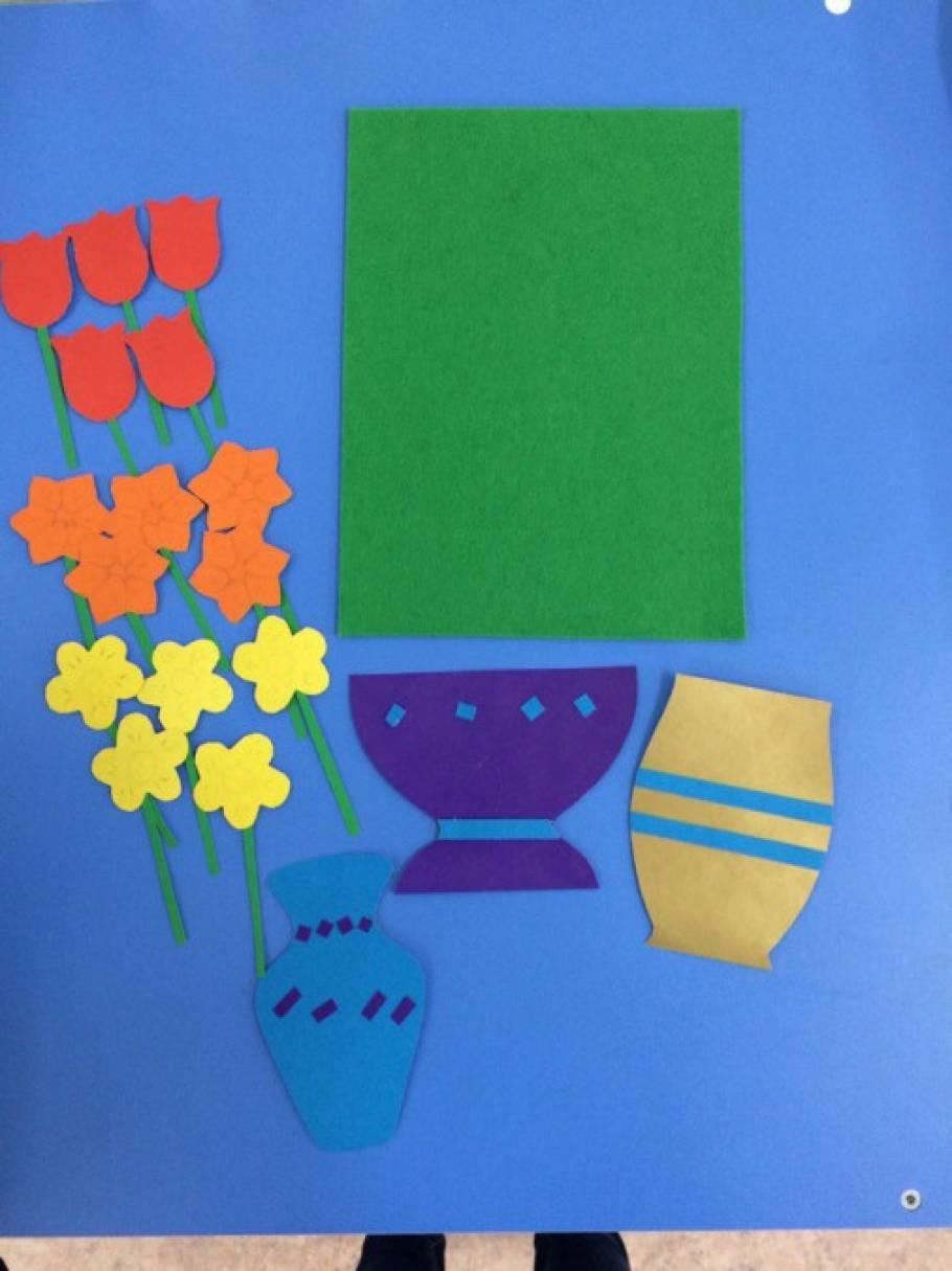 Дидактическая игра «Вазы с цветами»