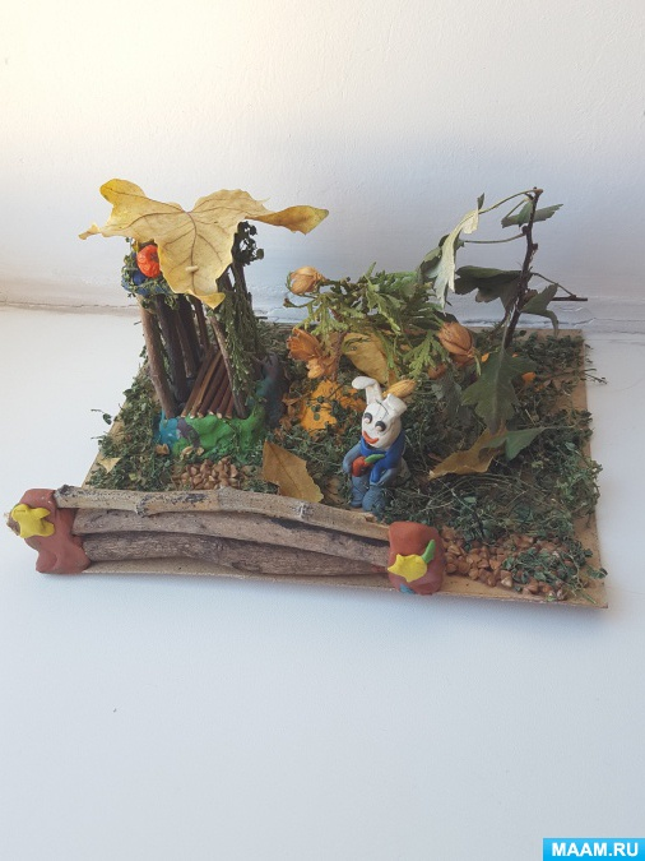 Выставка поделок из природного материала «Волшебница Осень»