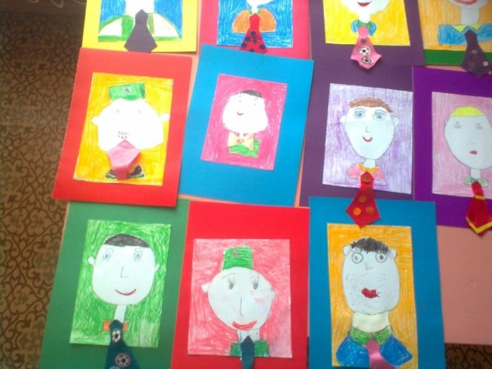 Конспект аппликация открытка папе в подготовительной группе, картинки картинки
