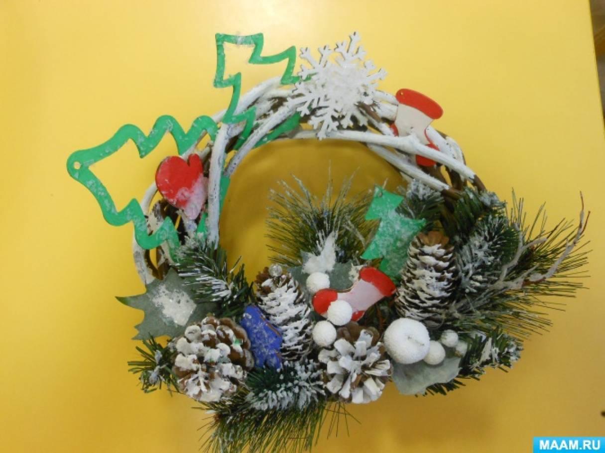 Фотоотчет «Новогоднее творчество»
