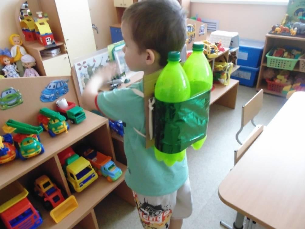 Как сделать акваланг из бутылок