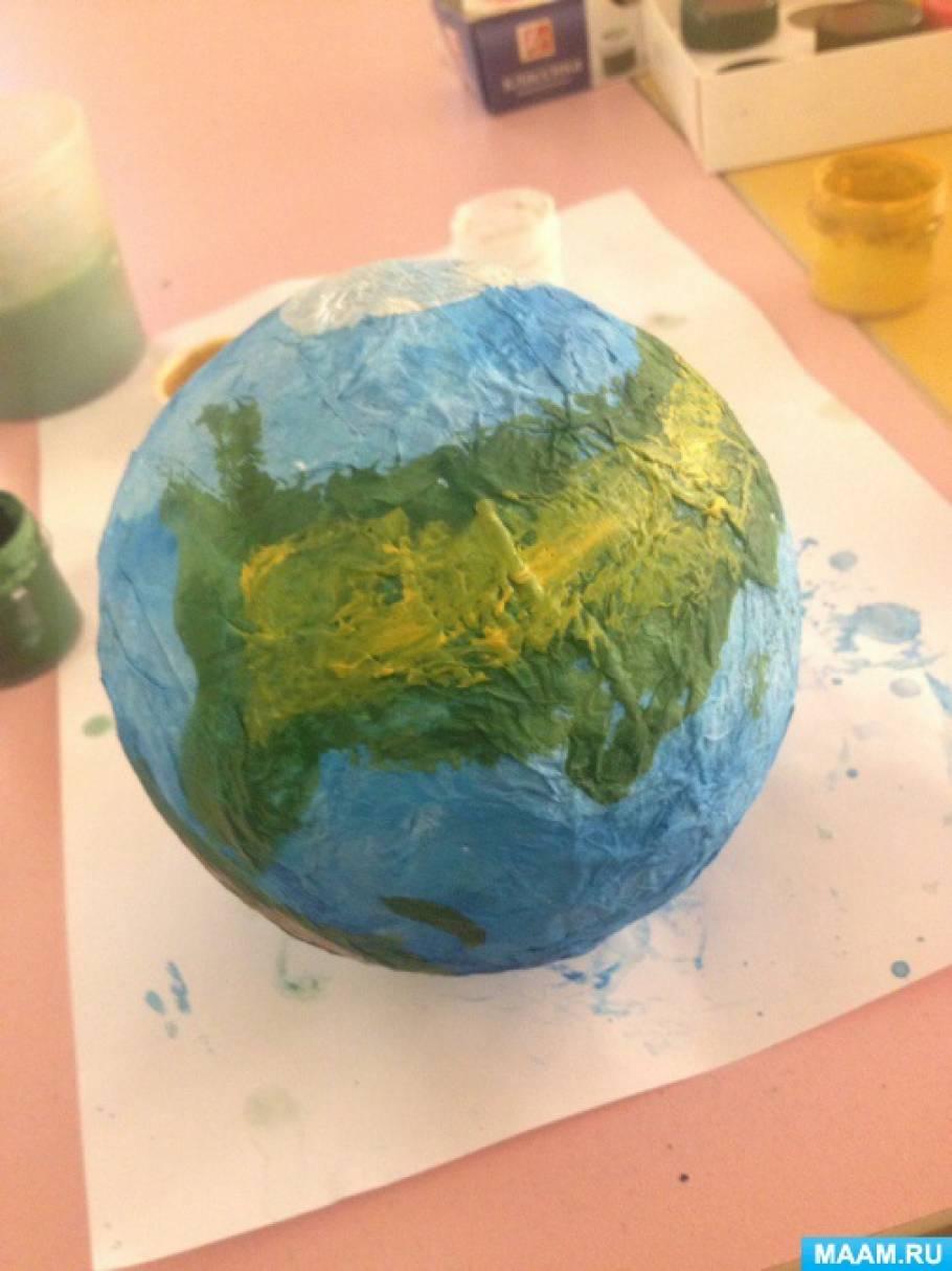 Как сделать планету из бумаги своими руками 624