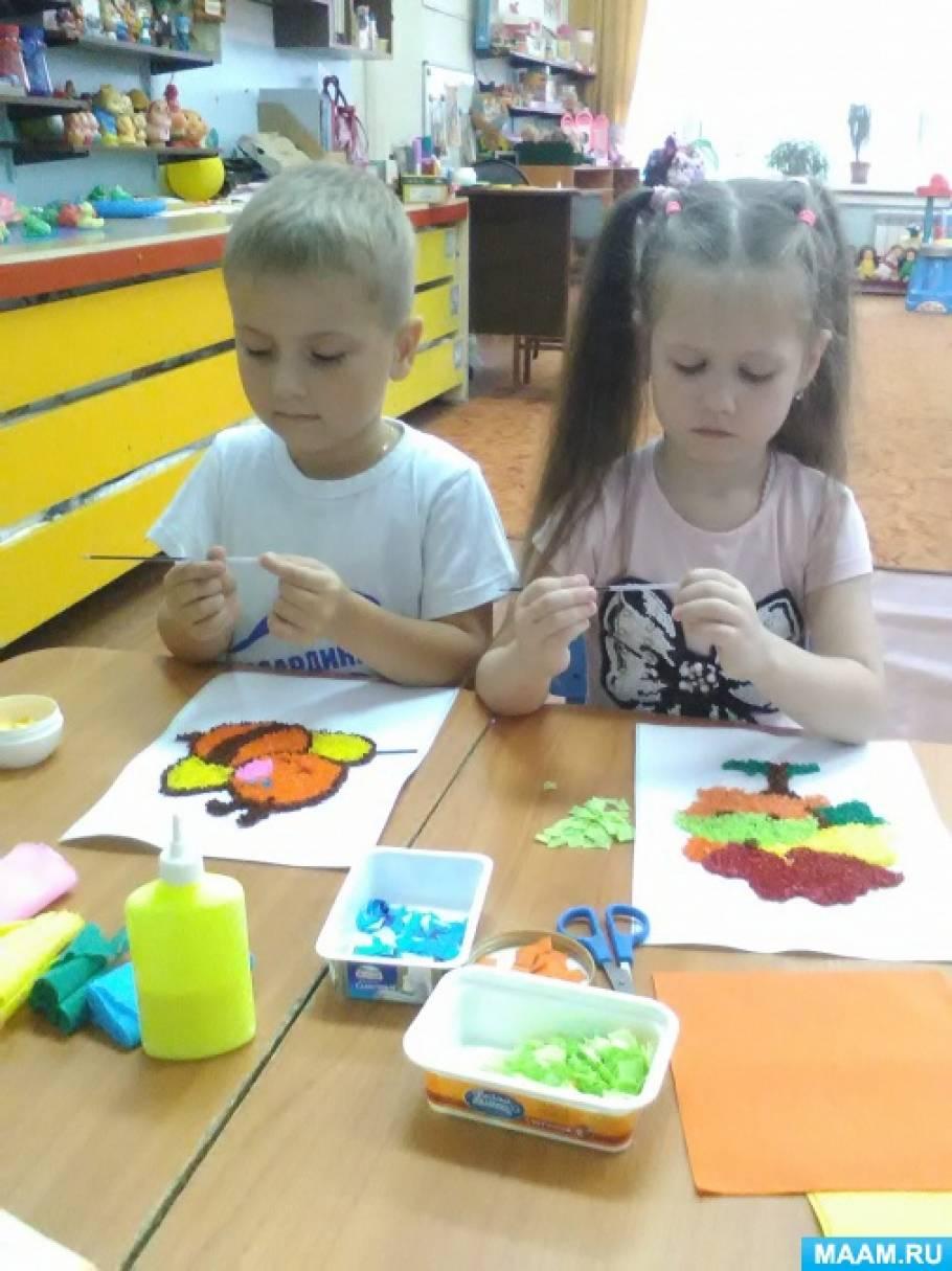 Фотоотчет «Бумагопластика, как средство развития творческого воображения детей дошкольного возраста»