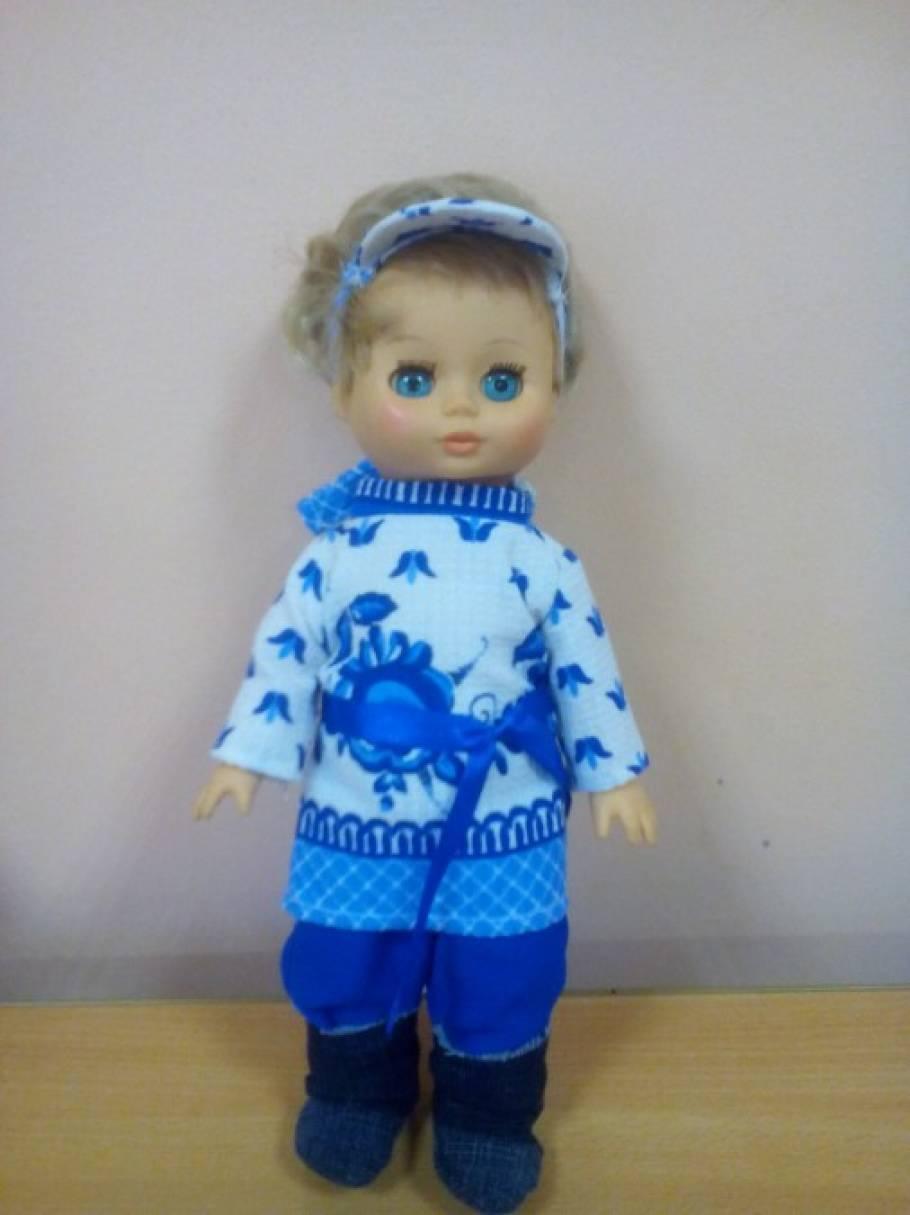 Дидактическая кукла своими рука 64