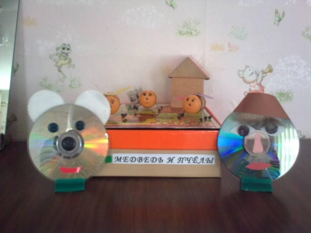 Театр из дисков в доу