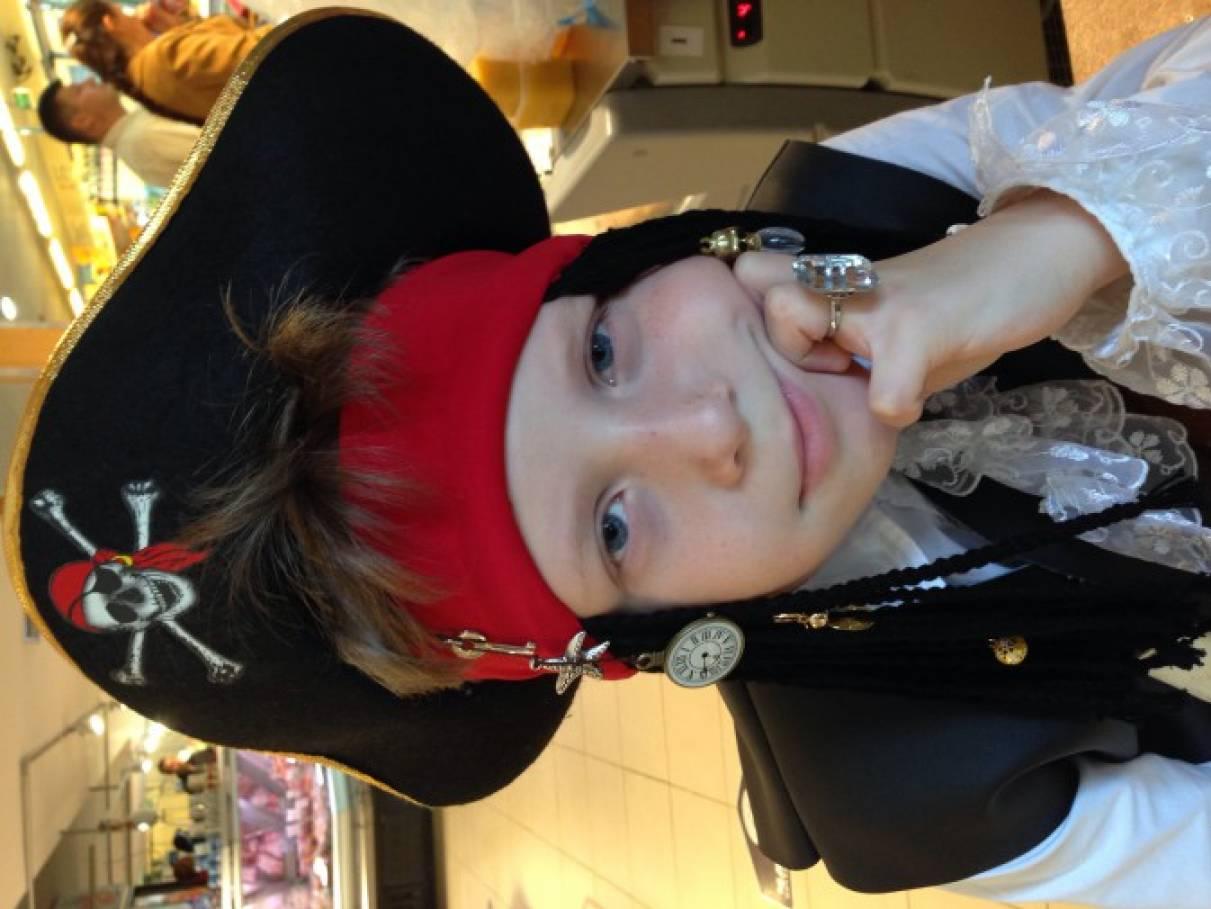 Шляпа пирата мастер класс пошаговый #12