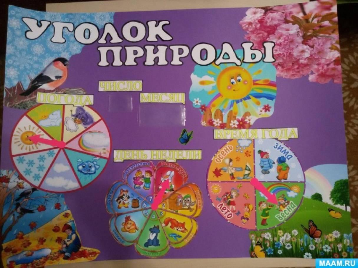 Оформление календаря природы в детском саду своими руками 25