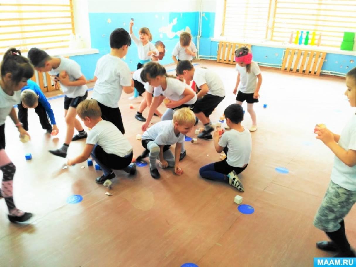 Физкультурное развлечение для детей старшей и подготовительной группы «Репка»