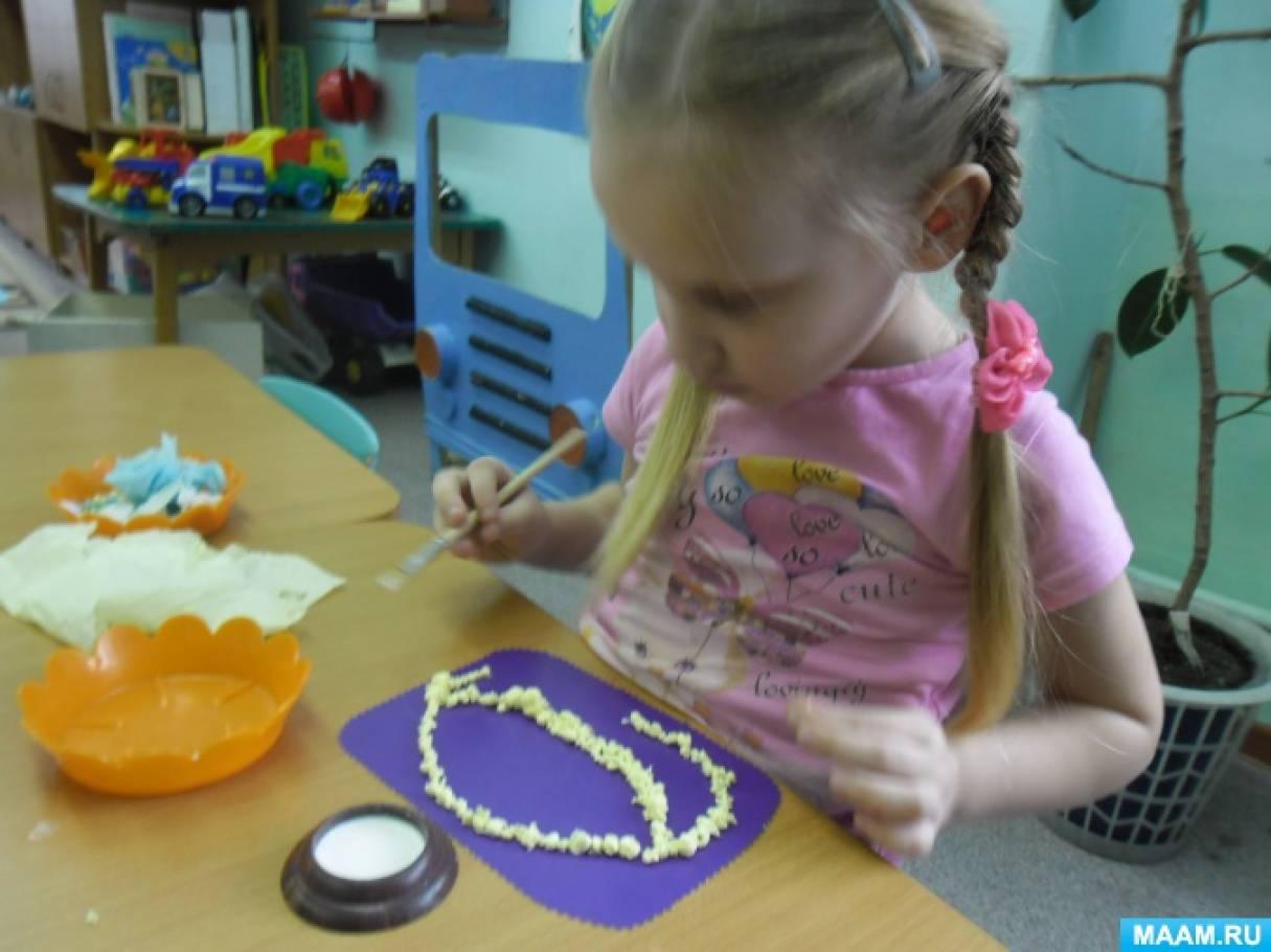 Детский мастер-класс «Корзинка с цветами в подарок для мам»