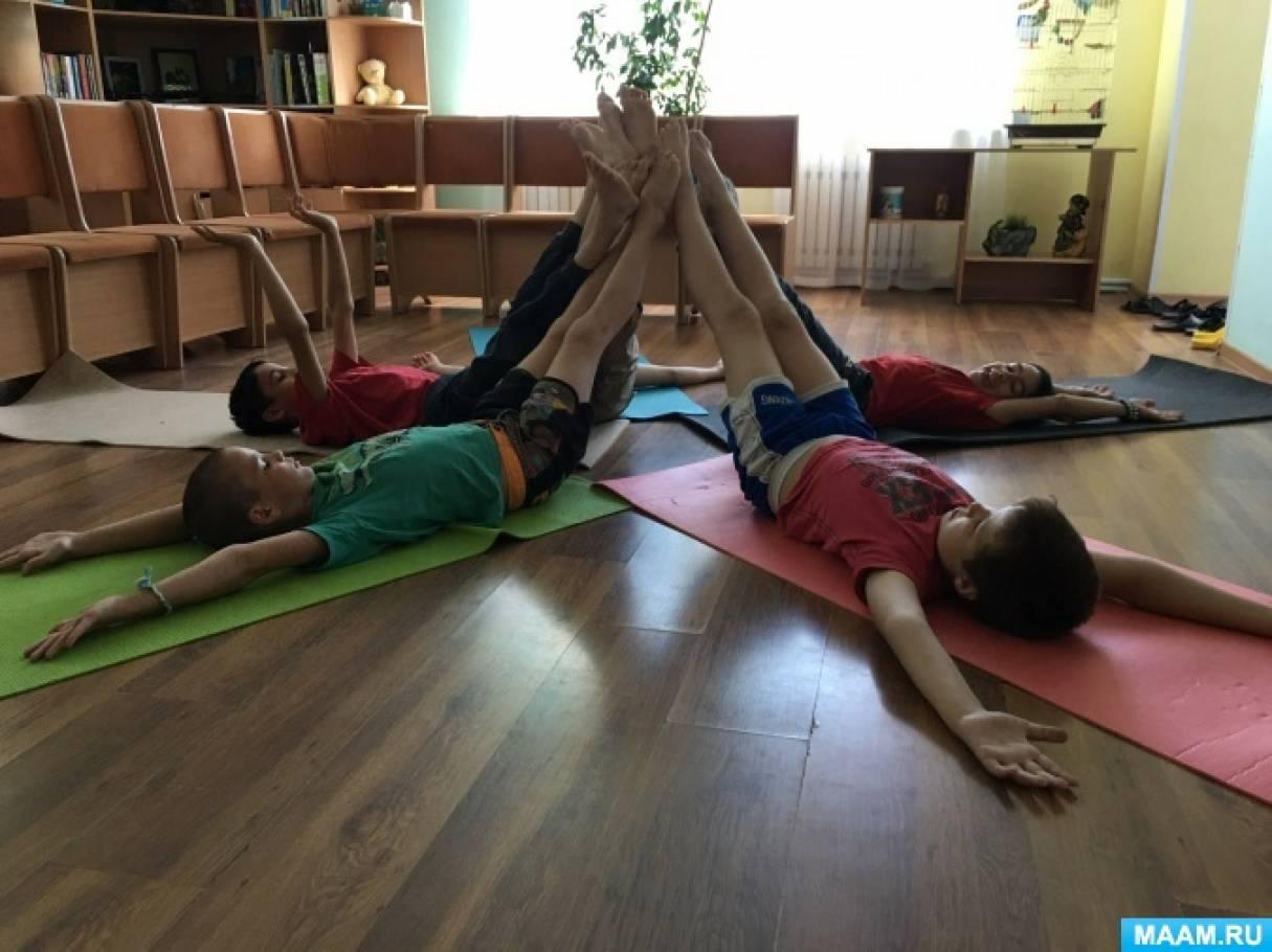 Обобщение опыта «Хатха-йога, как нетрадиционная здоровьесберегающая технология, применяемая в практике с детьми»