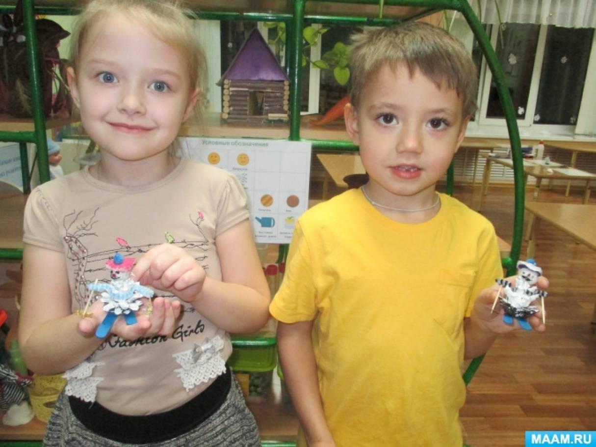 Методическая разработка «Новогодняя Эко-игрушка» для педагогов дошкольных образовательных организаций