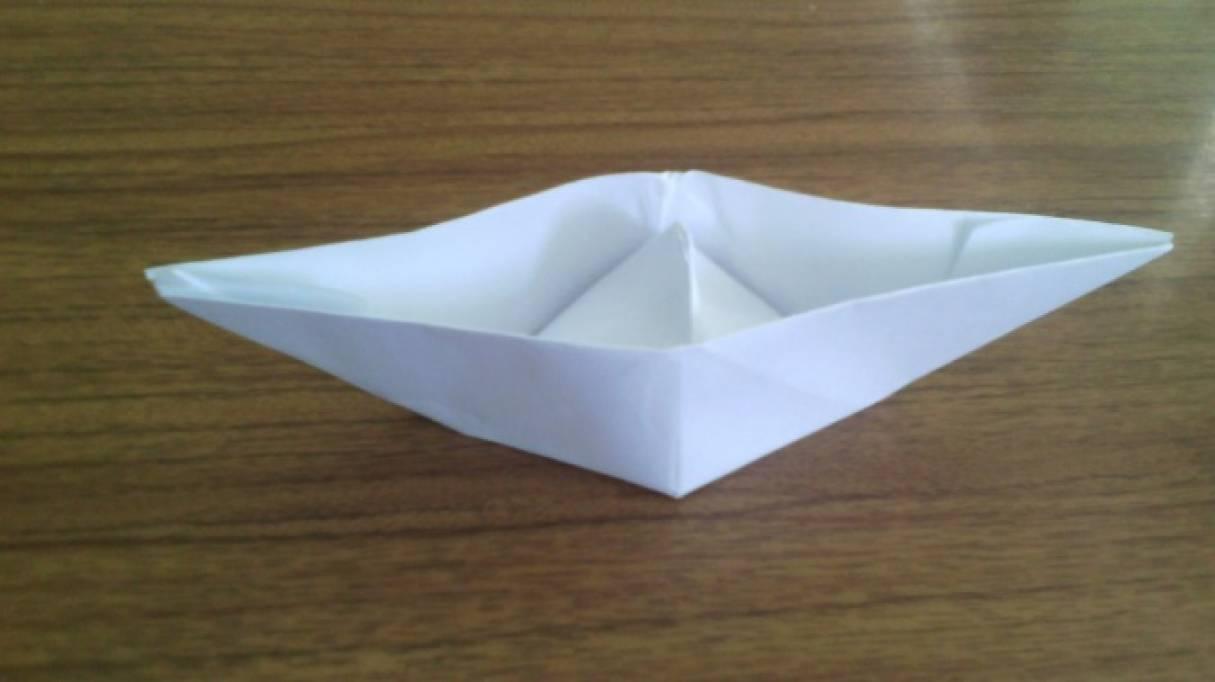 Мастер-класс «Конструирование кораблика из бумаги»