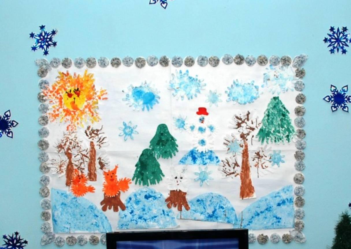 Конспект занятия в младшей группе рисования по теме мороз