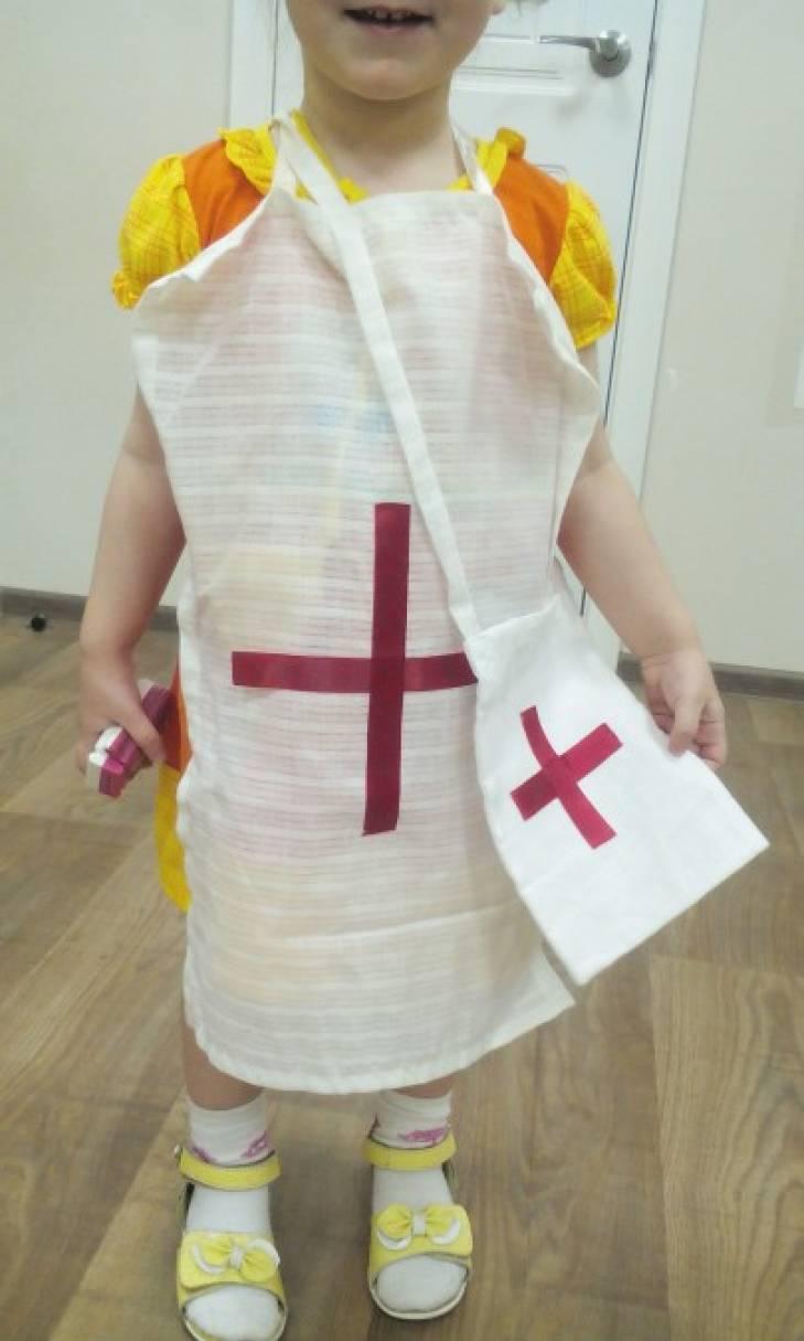 Детский костюм врача своими руками 372