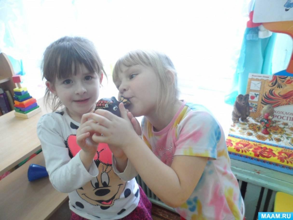 Дошкольное воспитание конспекты занятий по лепке тема народная игрушка