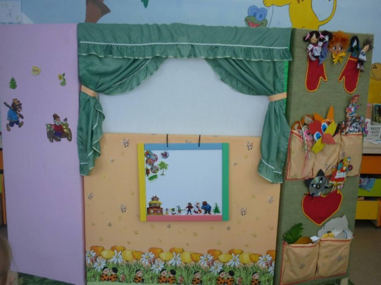 Оформление ширмы для детского сада