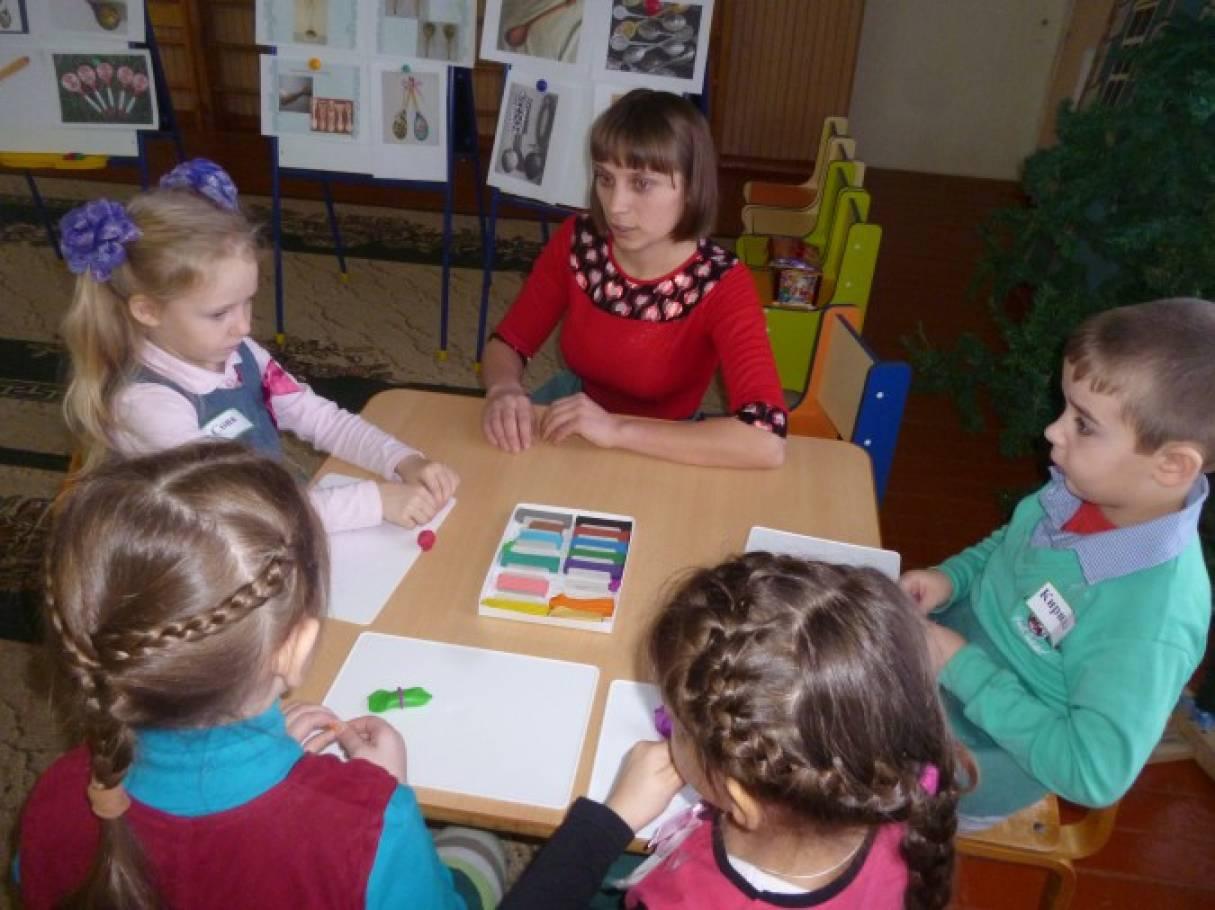 Конспект организации непрерывной непосредственной образовательной деятельности детей в старшей группе «История ложечки»